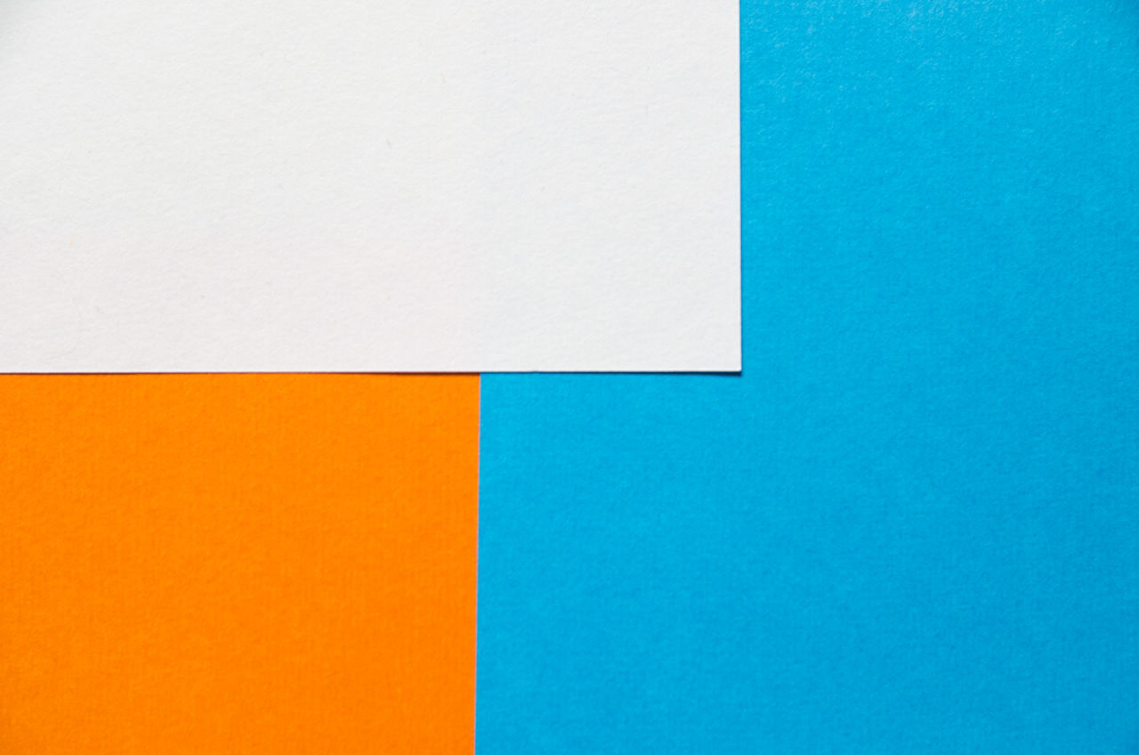 Backgrounds Blue Close-up Colorful Colors Copy Space Copy Space Cut Out Day Education Indoors  Multi Colored No People Paper Square Vibrant Color White