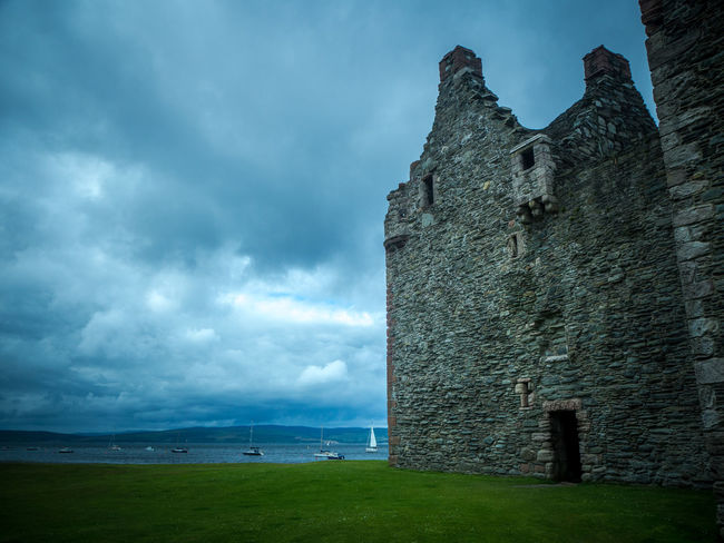 Architecture Arran  Building Exterior Built Structure Castle Cloud - Sky Fortified Wall Grass History Isle Of Arran  Medieval Old Ruin Outdoors Scotland Sky The Past Tourism Travel Destinations Weathered