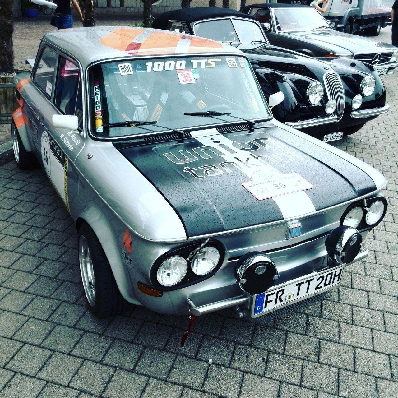 Nsu TTS Nsutts Racecar Freiburg Schauinsland Vintage Cars Classic Car Soloparking