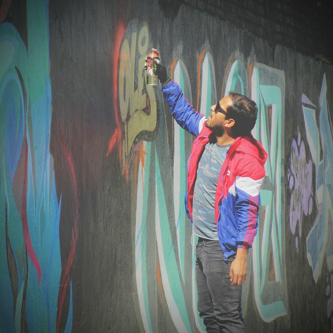 Master_shots Drawing. Colorful Graffiti Street Art, Drawing, Creativity Aerosol Symbol Getty Images Colors