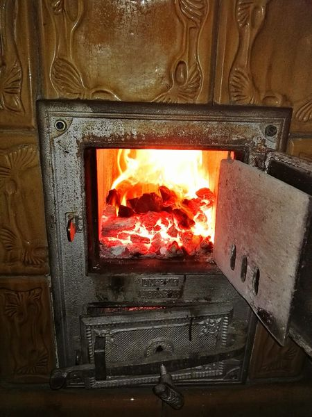 Check This Out a Brazier Close-up Fire And Flames Heat - Temperature Fire - Natural Phenomenon Fireplace Burning Flame Fire ! Fire Eye4photography  Lieblingsteil Miles Away Flame Burning Indoors  No People Miles Away in Stettin , Poland