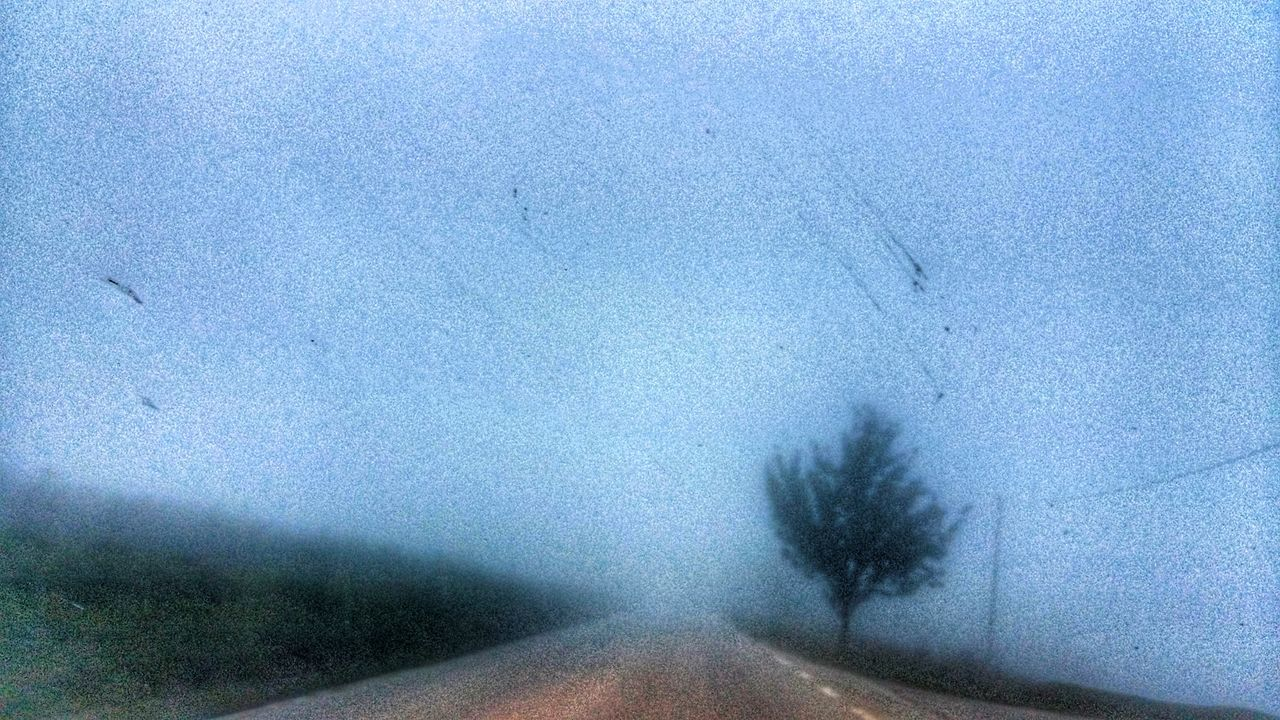 Blue Close-up Outdoors Sky Fog Foggy Day Foggy Landscape Nebbia Street Go Away Strada Driving To Driving Weather Capturing Motion