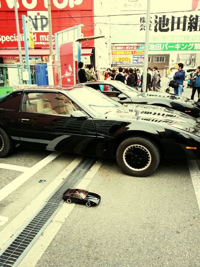 KITT from Knight Rider! Cars Japan Street Festival Knight Rider