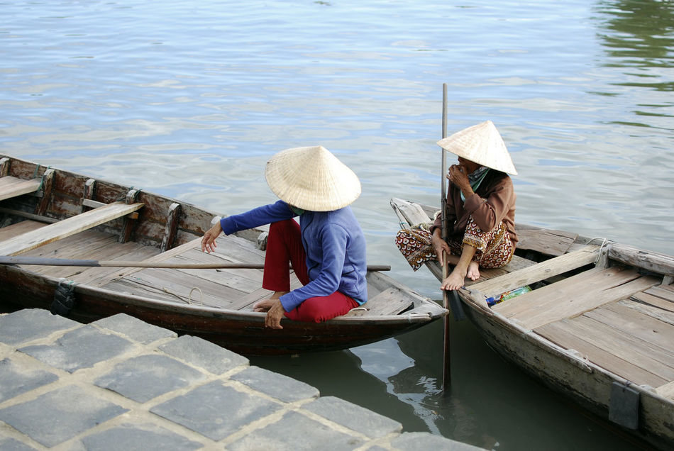 Beautiful stock photos of vietnam, hat, asian style conical hat, water, straw hat