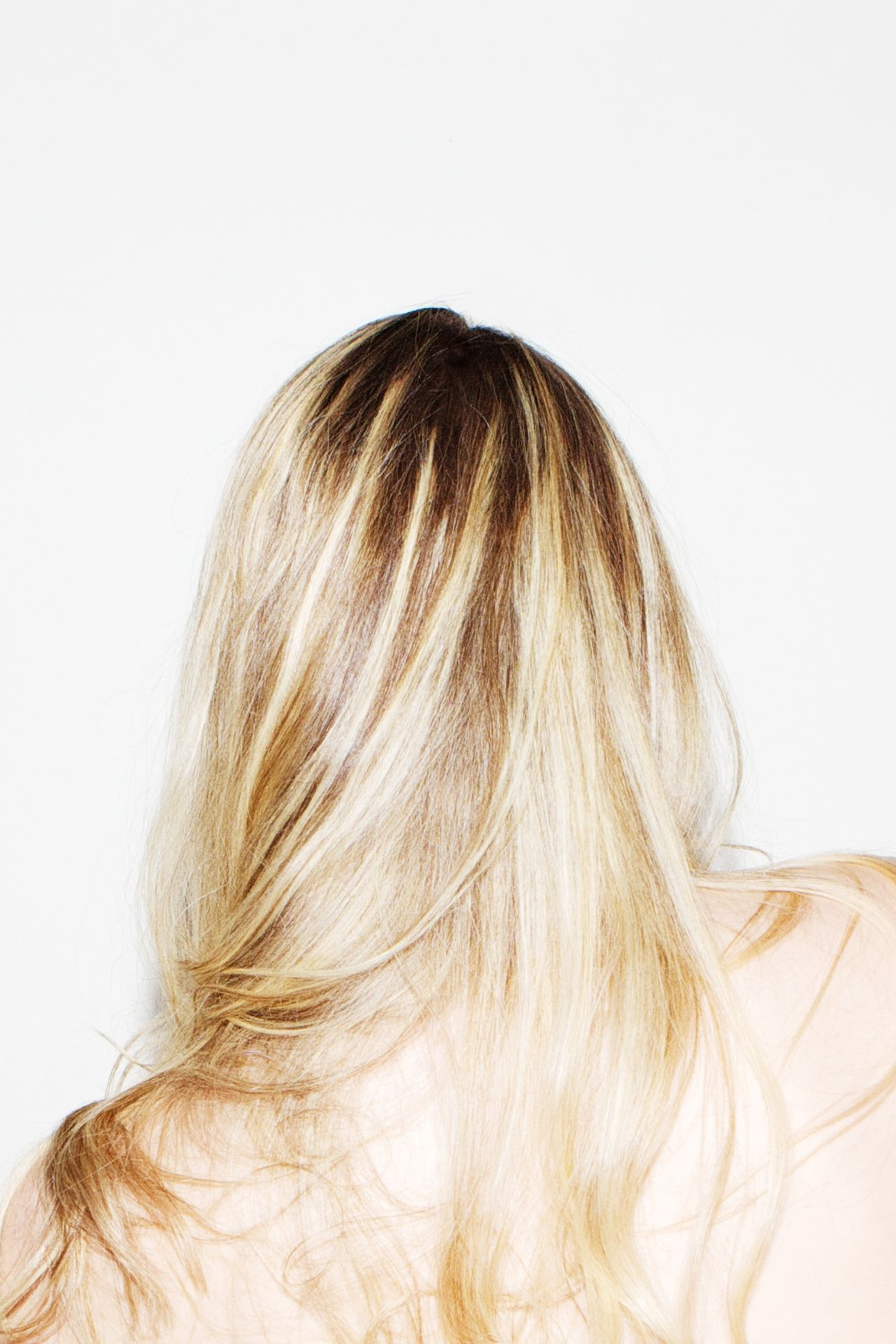 Beautiful stock photos of single, Alone, Back View, Blonde, Hair Style