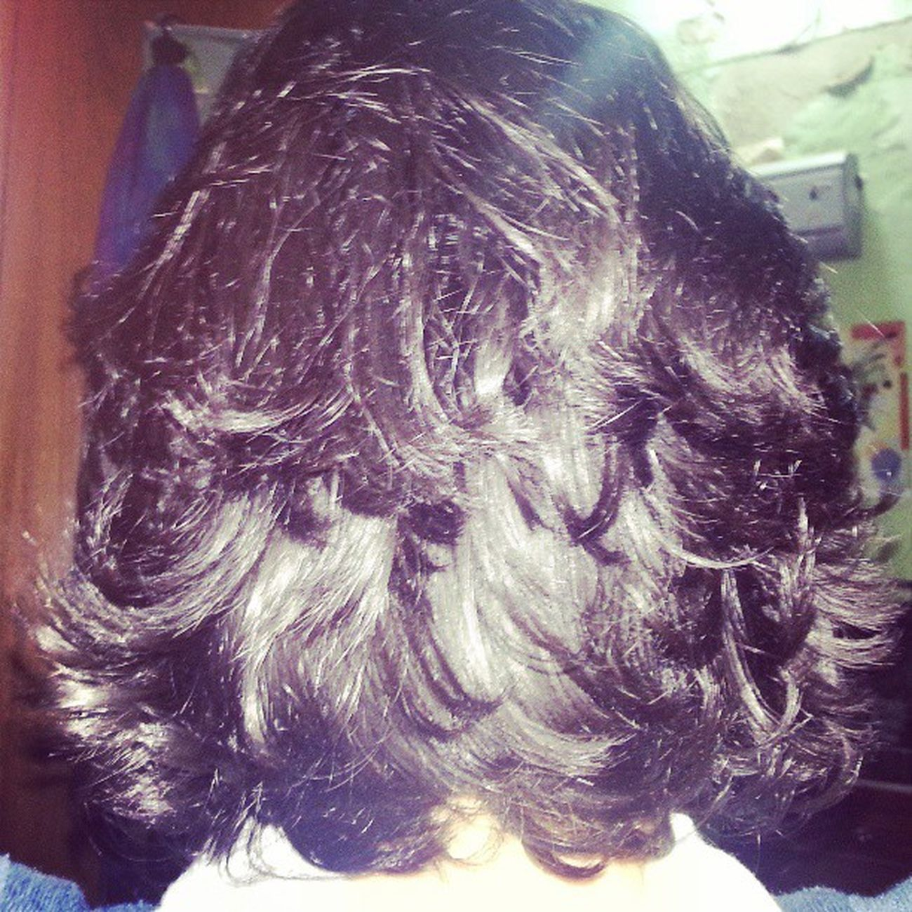Hhhhhh my hair month ago