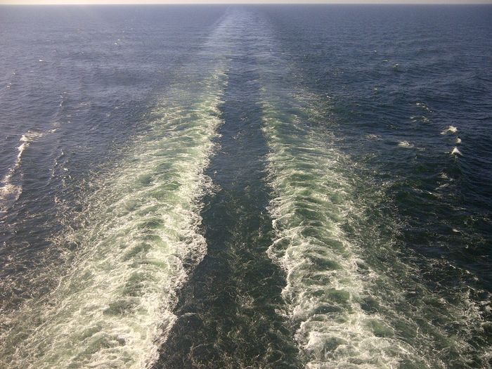 Ferry Trace Outdoors Sea Wave