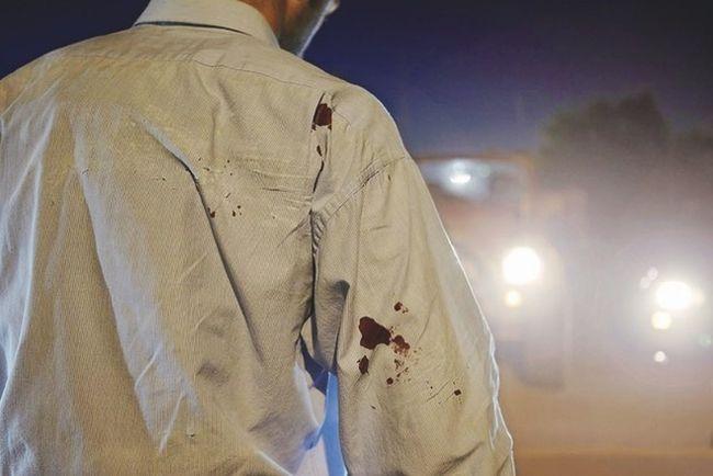 Headlights Blood Car Dress Shirt Man