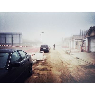 fog at Torrelodones by Sobotka