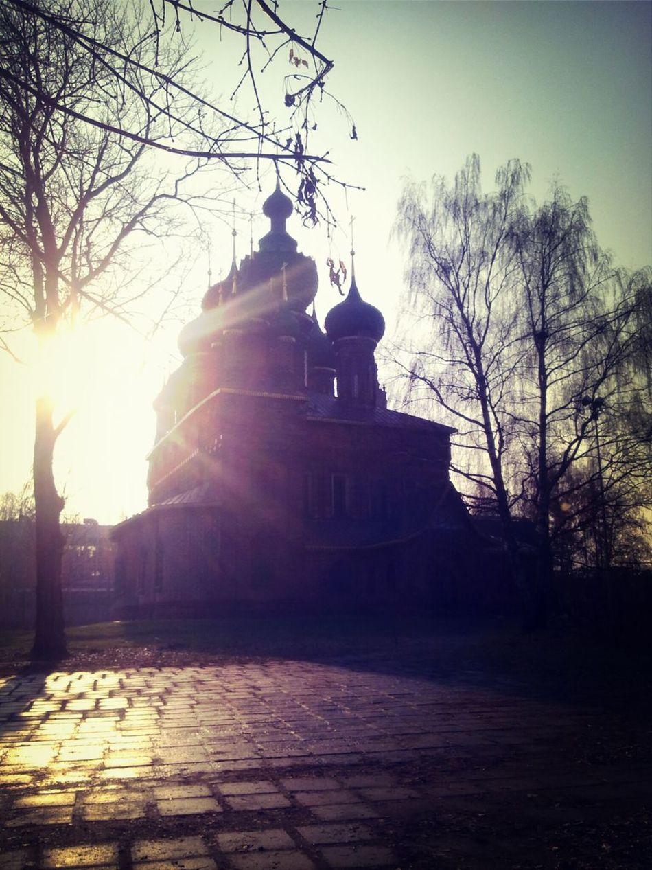 Church Architecture Yaroslavl Russia