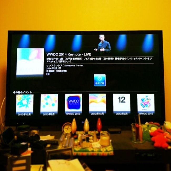 全○待機 WWDC WWDC14 APPLE Applejp