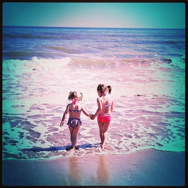 Day30 FacelessPortrait Mygirls Beach2014 MyBabyGirlForever MissTheBeach ???☀⛅?????⚓?