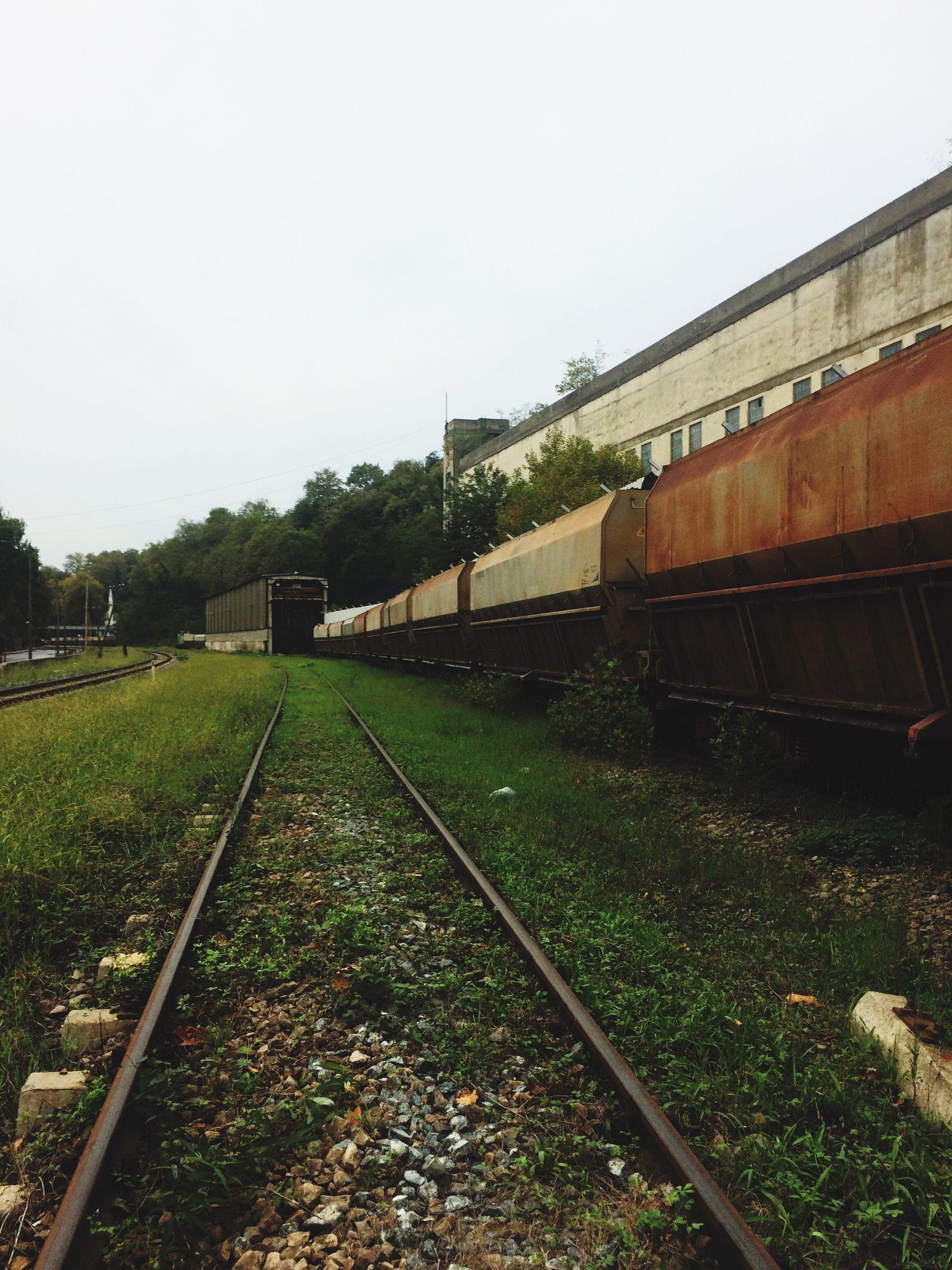 Blacksea Railway Oxcide Wagon  Coal Station First Eyeem Photo