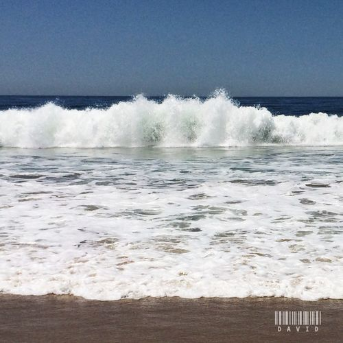 Morning Beach Ocean Waves Enjoying Life