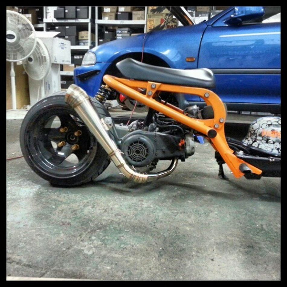 Thank you Mike for the gp exhaust. Ruckcartel @ruckcartel Nycalive Projectjdm @projectjdmny Ruckus rucknation ruckus4life rucklife allday gy6