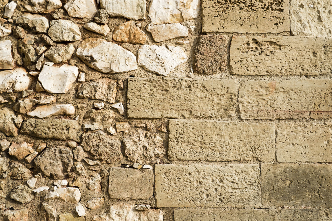Background Backgrounds Bricks Bricks In The Wall Close-up Day Full Frame No People Outdoors Pattern Stone Stone Material Stone Wall Textured  Wall Wall - Building Feature