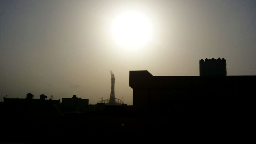 Against The Light Against The Sun Middle East Dohatoday Good Morning Sunrise Sun Raw Photography Check This Out Phone Photography Early Morning