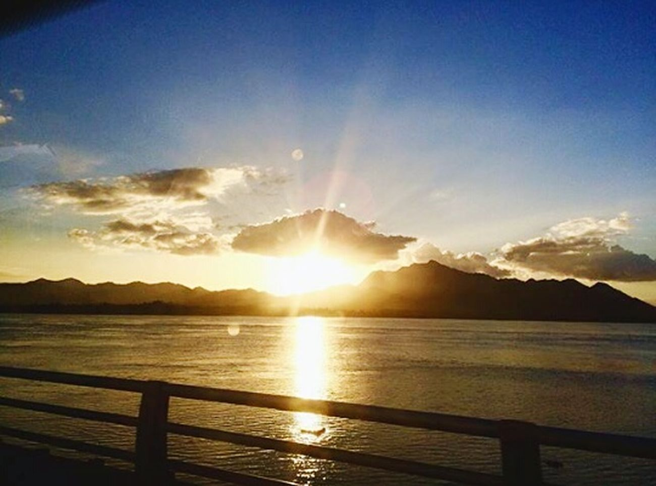 Sanjuanicobridge Sanjuanicobridgeview Sunset Nature Light And Shadow Philippines