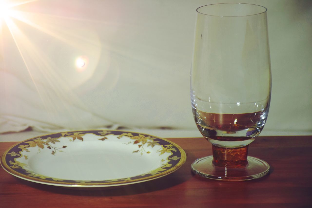 food and drink, table, drinking glass, drink, indoors, no people, refreshment, close-up, freshness, plate, beer, focus on foreground, food, day, ready-to-eat