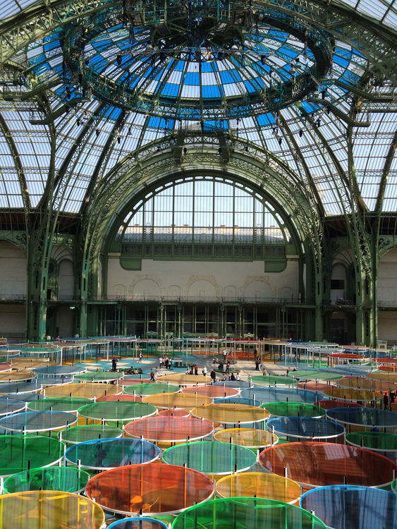 Taking Photos at Grand Palais by Ricardo Dinis