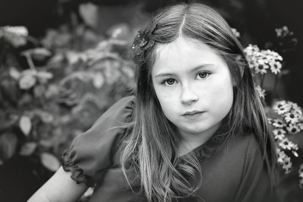 shooting in a beautiful garden we found in bloom Black And White Collection  Black And White Portrait Blackandwhite Blanco Y Negro Children's Portraits Faces In Nature Headshot Human Face Lifestyles Person Portrait The Portraitist - 2016 EyeEm Awards