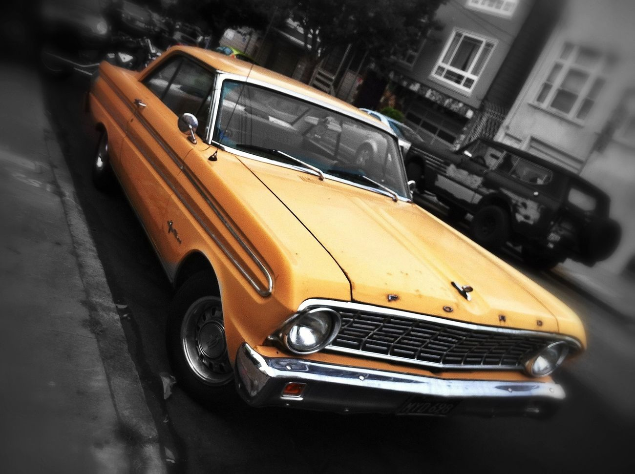 EyeEm San Francisco Meetup July 2013 Vintage Cars Colorsplash Wheels
