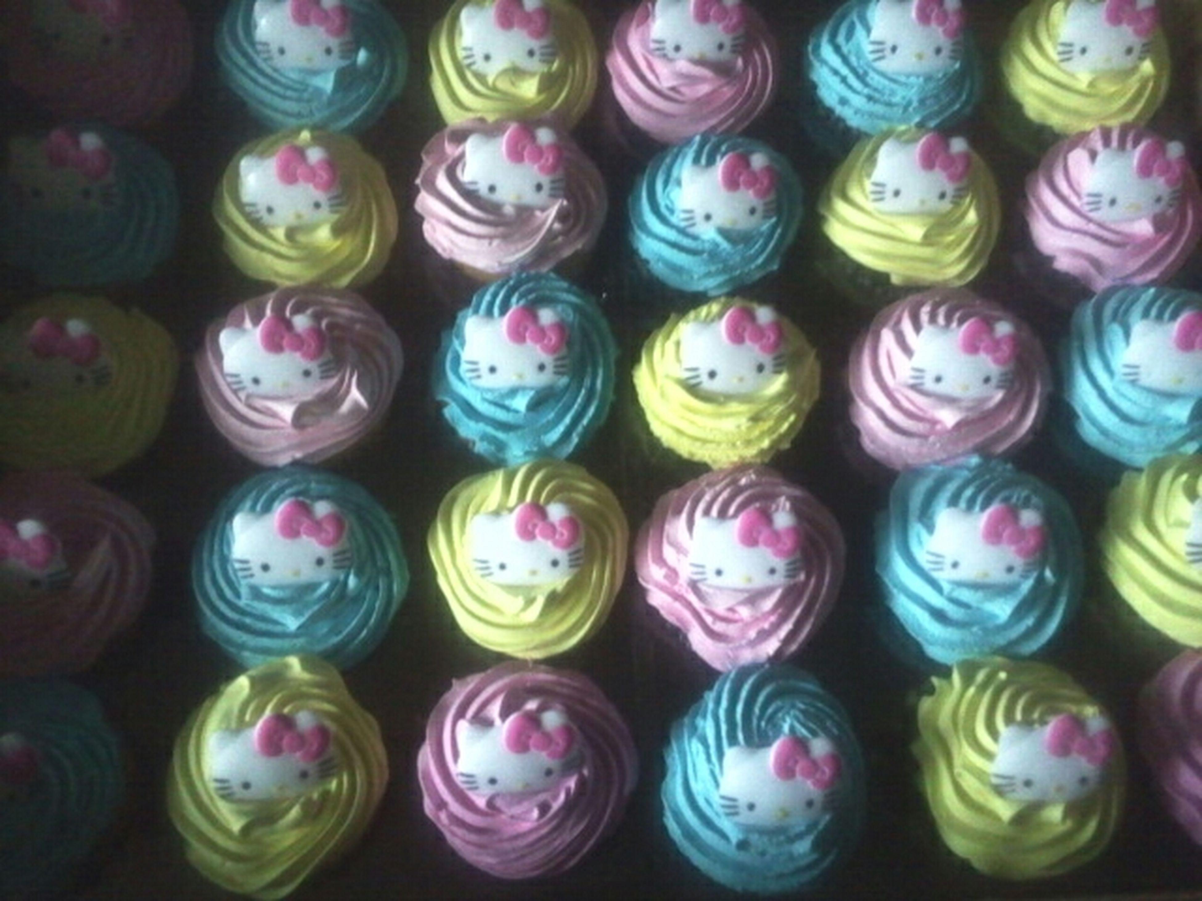 my pretty birthday cupcakes