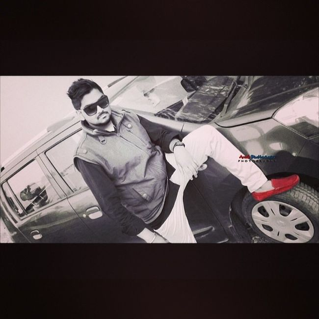 Posing Photosession Photography Black And White red Loafers Me And WagonR Instacool Instaclick Instalikes Tagsforfollow Followforfollow Jabalpur 😘😁😎😄