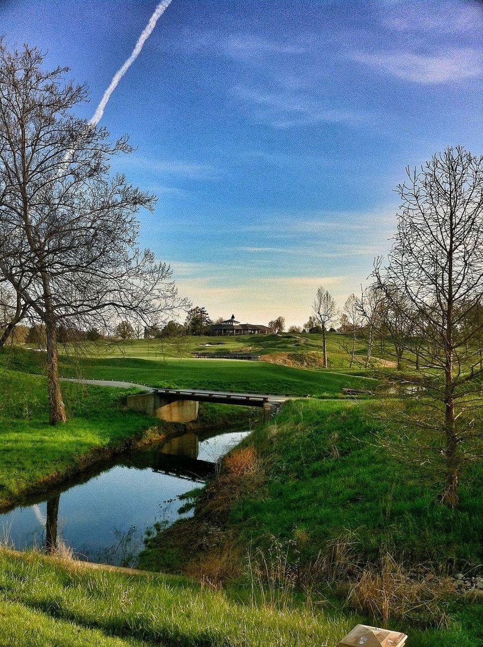 Taking Photos Enjoying The View Golfing Hdr_Collection