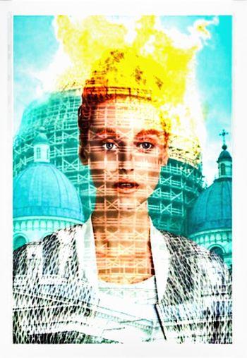 Photographic Approximation Subway Dreams Surrealism Facial Experiments
