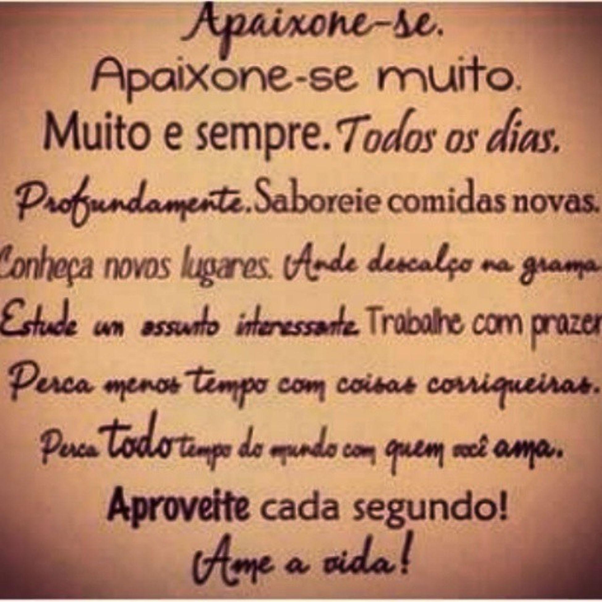 Follow Following Apaixonar Amor frase