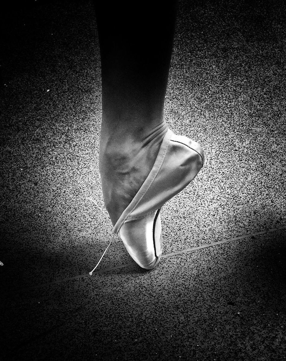 I work with incredible dancers! I've never taken shots before of them but today one of them was showing me her new point shoes (ballet shoes) and I took this! It's how I see my world ❤ Danceshoes Ballet Shoes Dance Dance Photography Human Leg One Person Low Section High Heels Standing Ballet One Woman Only Close-up Human Body Part Indoors  Performing Arts Event Ballet Dancer