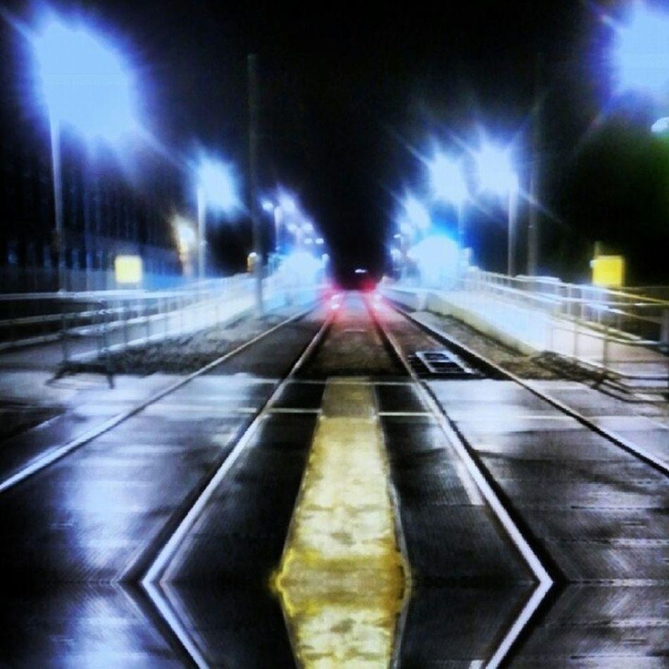 Tramway Tram Tracks Mirror Reflection Lights And Shadows Todaysphoto Todaysphotoshoot