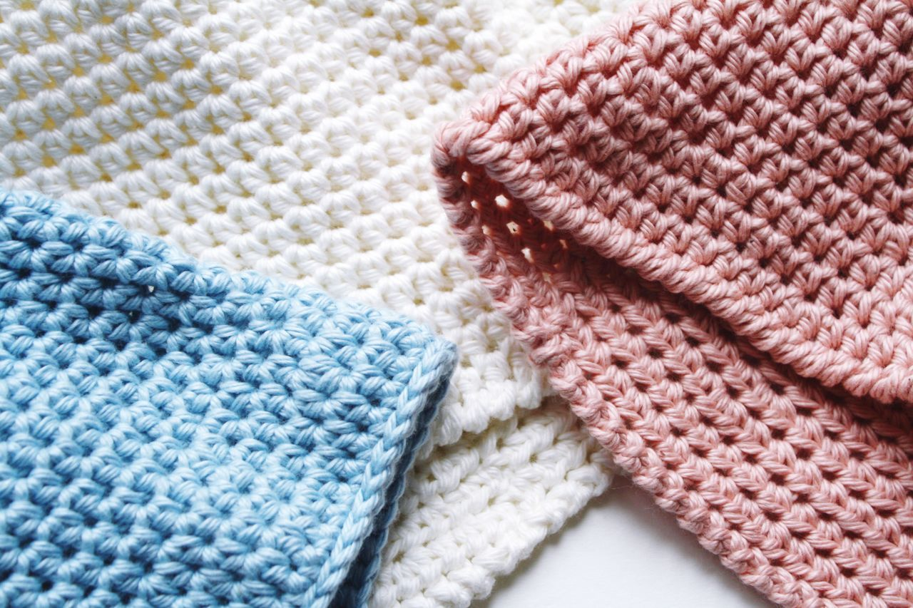 Close-up Multi Colored White Color Textile No People Heap Backgrounds Fashion Knitting Crochet Things That Go Together Texture Pink Pink Color Blue White