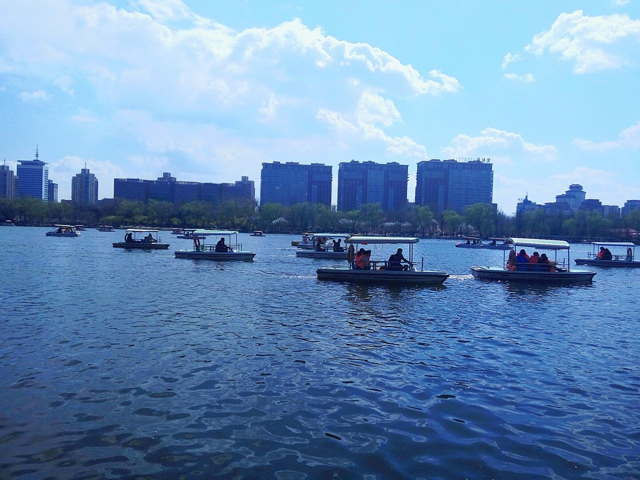 Nautical Vessel Transportation Travel Destinations Outdoors Rippled Mode Of Transport City Water Cloud - Sky No People Moored Sailing Sky Urban Skyline Day Harbor Architecture Beauty In Nature Pedal Boat