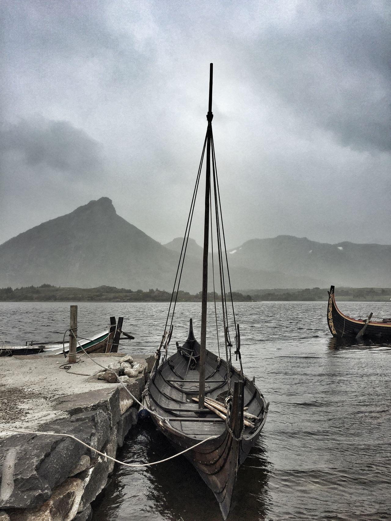 Vikings  Norway Noruega Lofoten Islands Boat Viking Ship