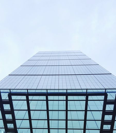 Architecture Skyscraper Sky Modern Built Structure Building Exterior Business Finance And Industry Outdoors Futuristic City Low Perspective Low Angle View London Office Building EyeEm LOST IN London