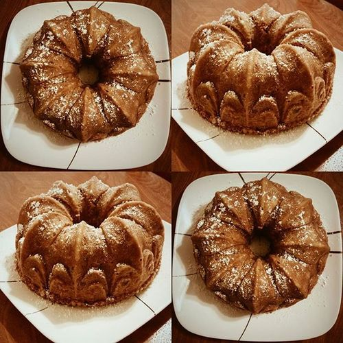 Apple spice cake 🍎🍰 Homemade Bakingisfun Applespicecake Apple Bundtcake Cake Foodie Instafood Bostonfoodies Foodporn Foodart Ineedasifter Fall Autumn Yum Delicious Proudchef Letthemeatcake VSCO Vscocam