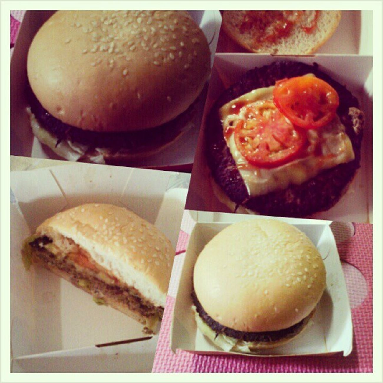 BIG Burger champ for Merienda ..