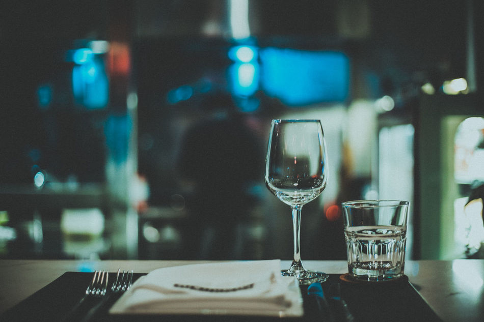 Beautiful stock photos of bar, food and drink, drink, wineglass, table