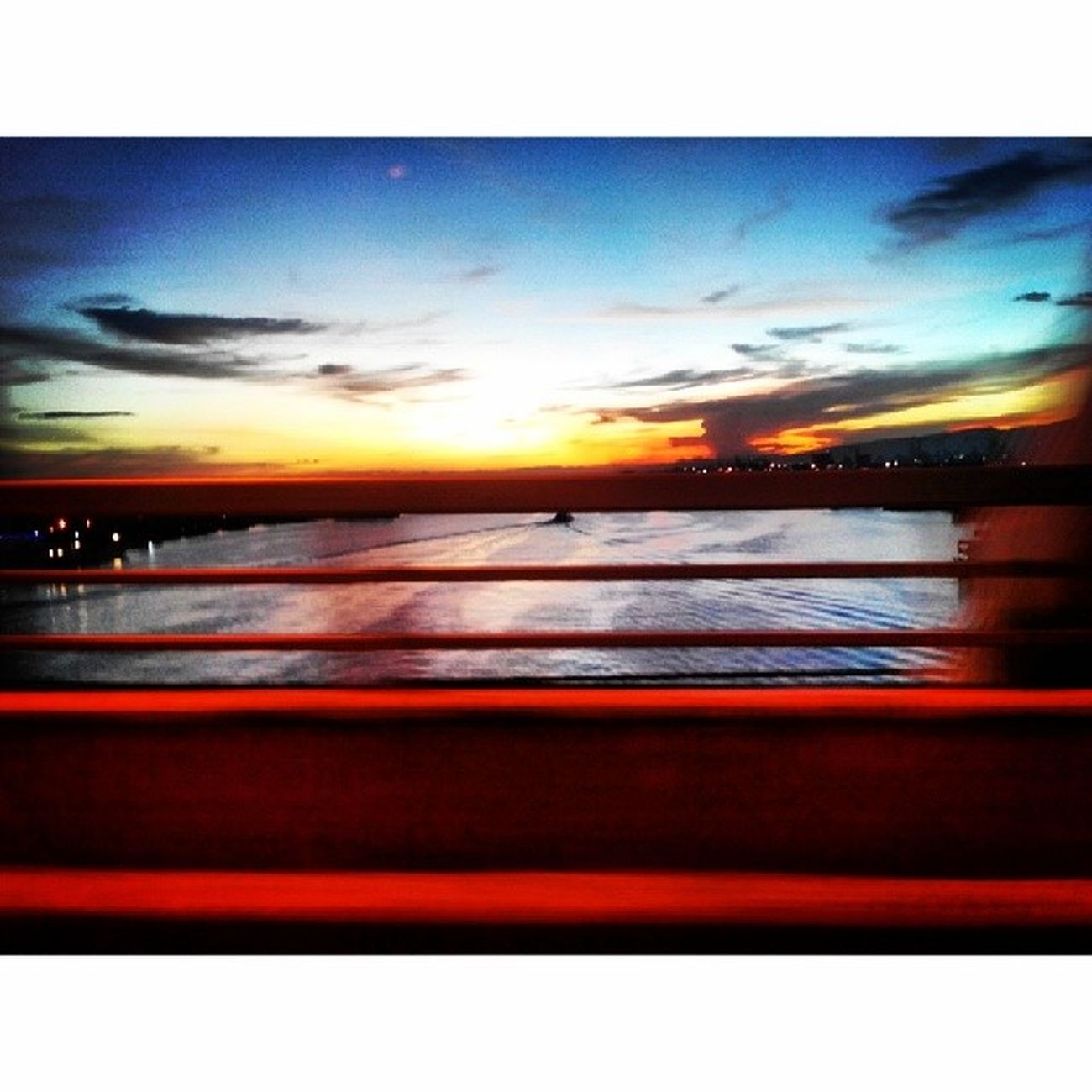 Mactan Bridge Sunset Sunset Mactan Bridge Mactanbridge beautiful nature mothernature heavenly soothing ocean sunday love life passion igers igersasia Philippines Cebu pinoy iglike iglove igdaily potd Lenovo photography pilipinasshoutout