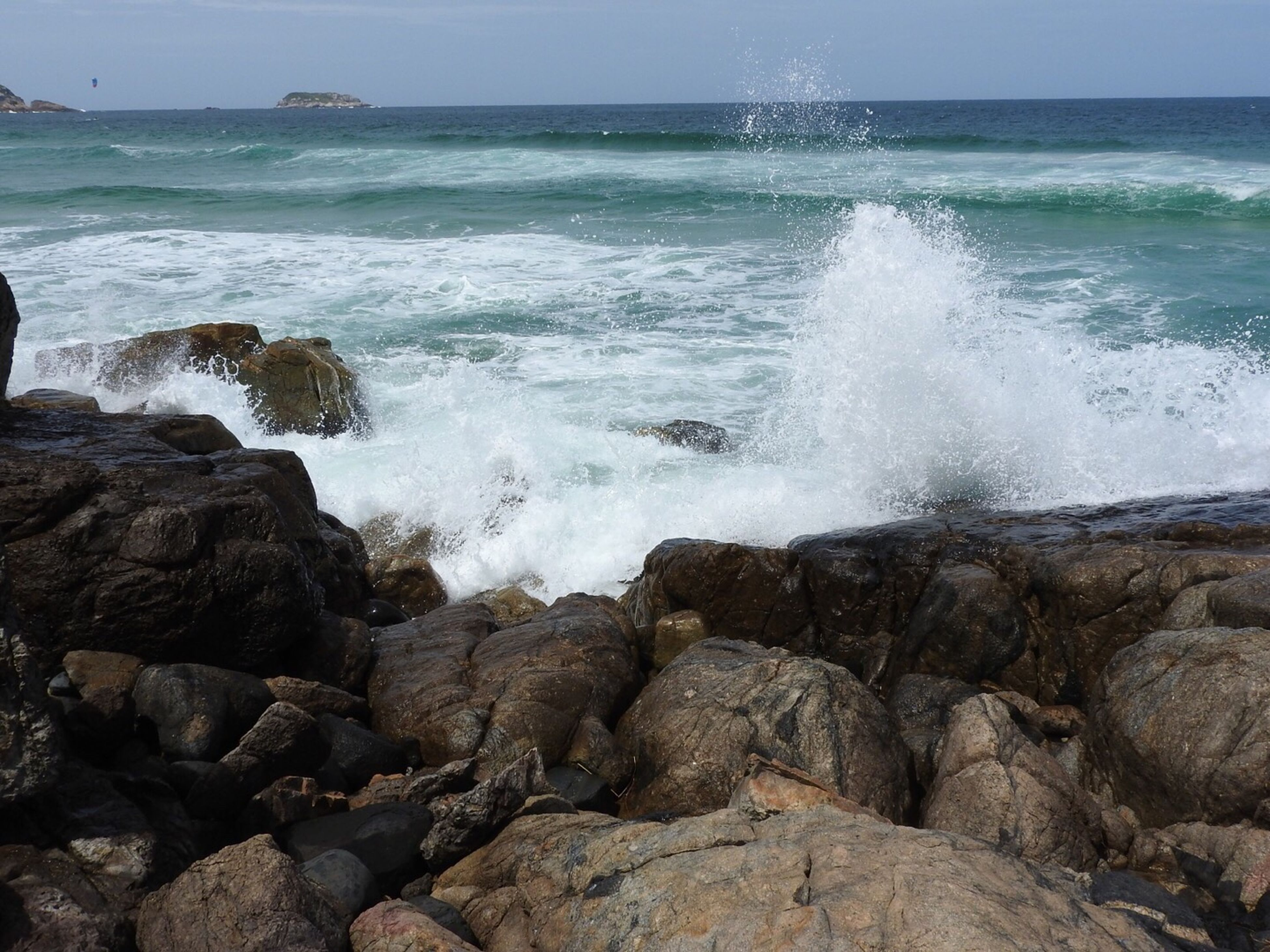 sea, wave, horizon over water, water, motion, beach, beauty in nature, power in nature, outdoors, nature, no people, day