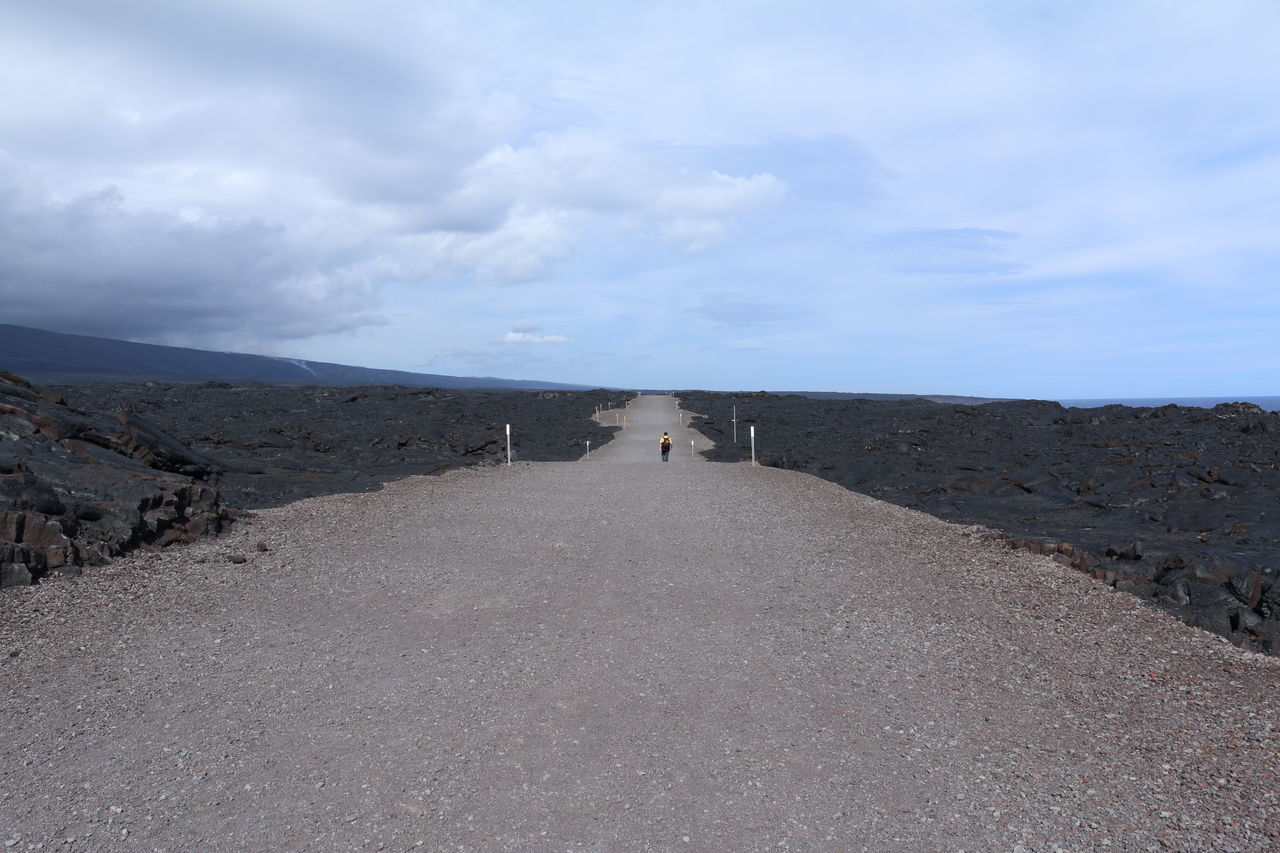 Walking 11 miles 5 hours to see the lava flow!😊😊 Landscapes Landscape Nature Road Road Trip Walking Adventure The Way Forward Lava Field Lava Rock Hawaii Volcanoes National Park Volcano Rock People People Walking  Big Island in Hawaii United States Break The Mold Live For The Story