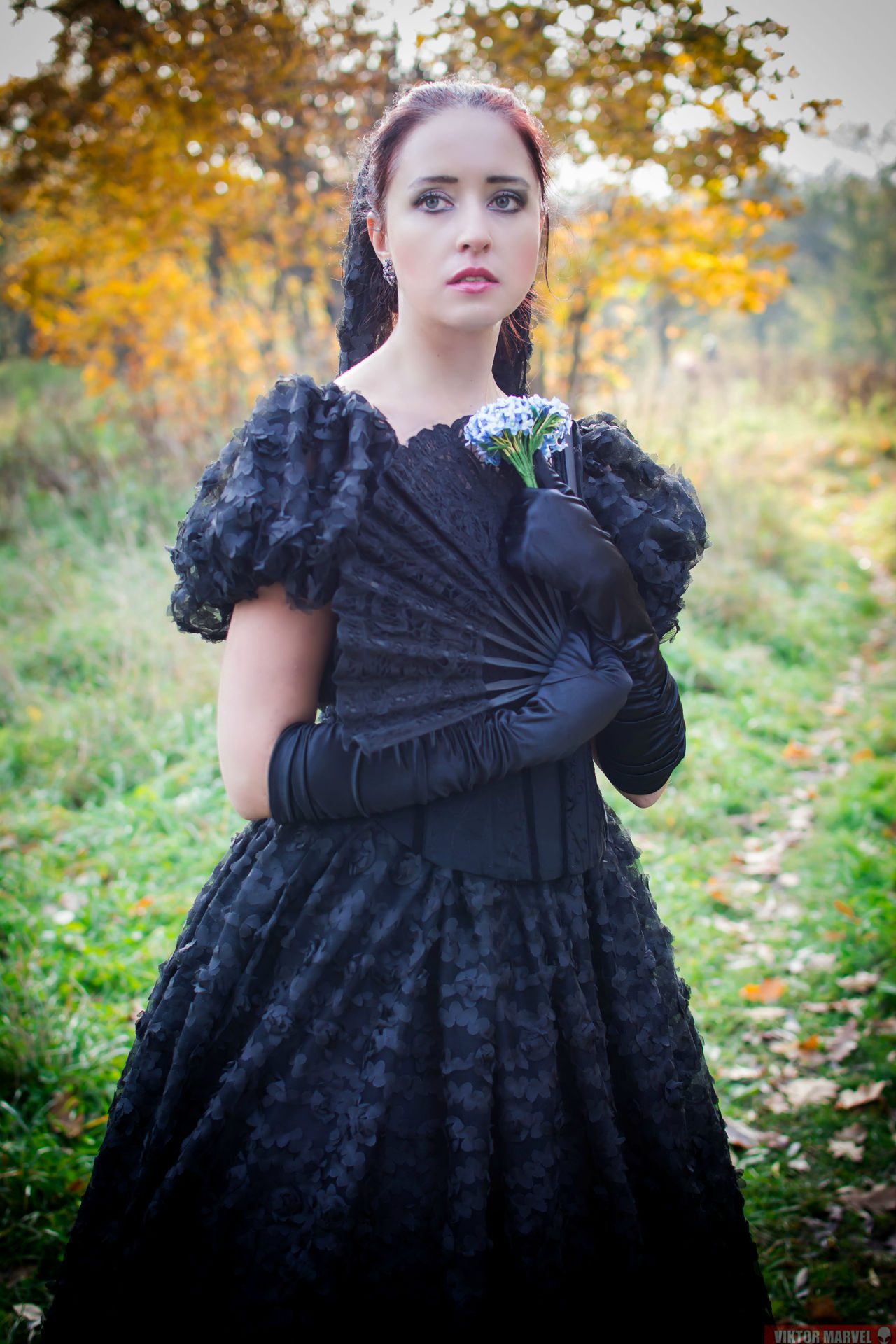 Beauty Beautiful People Dress Autumn Fashion Nature Outdoors Portrait Glamour Standing One Person People Beauty In Nature Young Adult Day Adult Adults Only Period Costume Gotika Photography Gerl Beautiful Woman