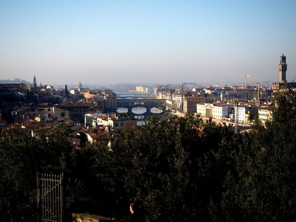 Florentine sunset over the Arno River, autumn Architecture Basilic Bridge Buildings Cathedral City Florence Holy Cross Italy Italy4fun No People Outdoors Picoftheday Pitti Pitti Palace Santa Croce Seagulls Sky Sky And Clouds The Medici Family Tuscany Uffizi Uffizi Gallery Vasari Corridor Water