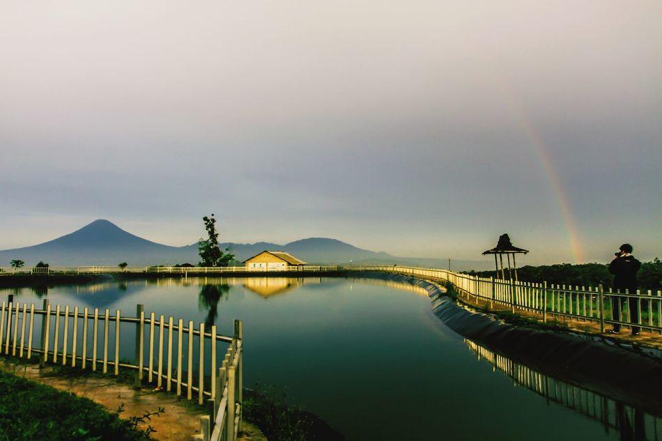 Beautiful stock photos of regenbogen, Beauty In Nature, Built Structure, Day, House