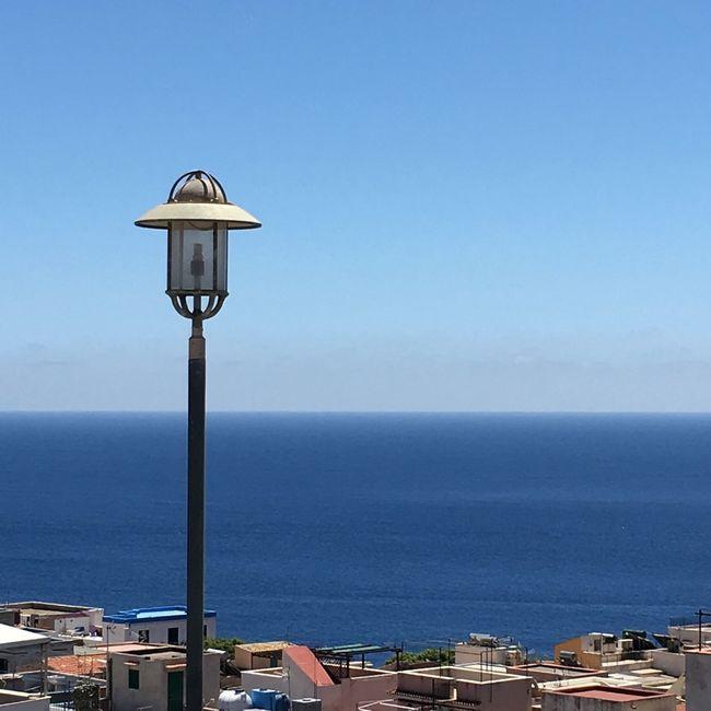 Showcase June Sea Landscape Sea And Sky Sea View Sicily Ustica Panoramic True Blue Colour Of Life