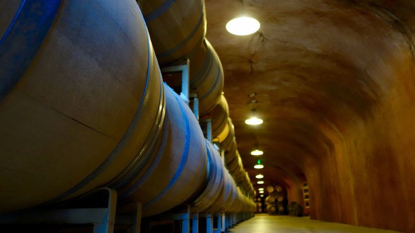 Wine Cellar Architecture Barrel Built Structure California Cave Ceiling Cellar Fermentation Illuminated Indoors  Lighting Equipment Low Angle View No People Organic Sommelier Vinery Vineyard Viticulture Wine Wine Cellar Wine Tasting Wine Time Wineandmore Winery Wood