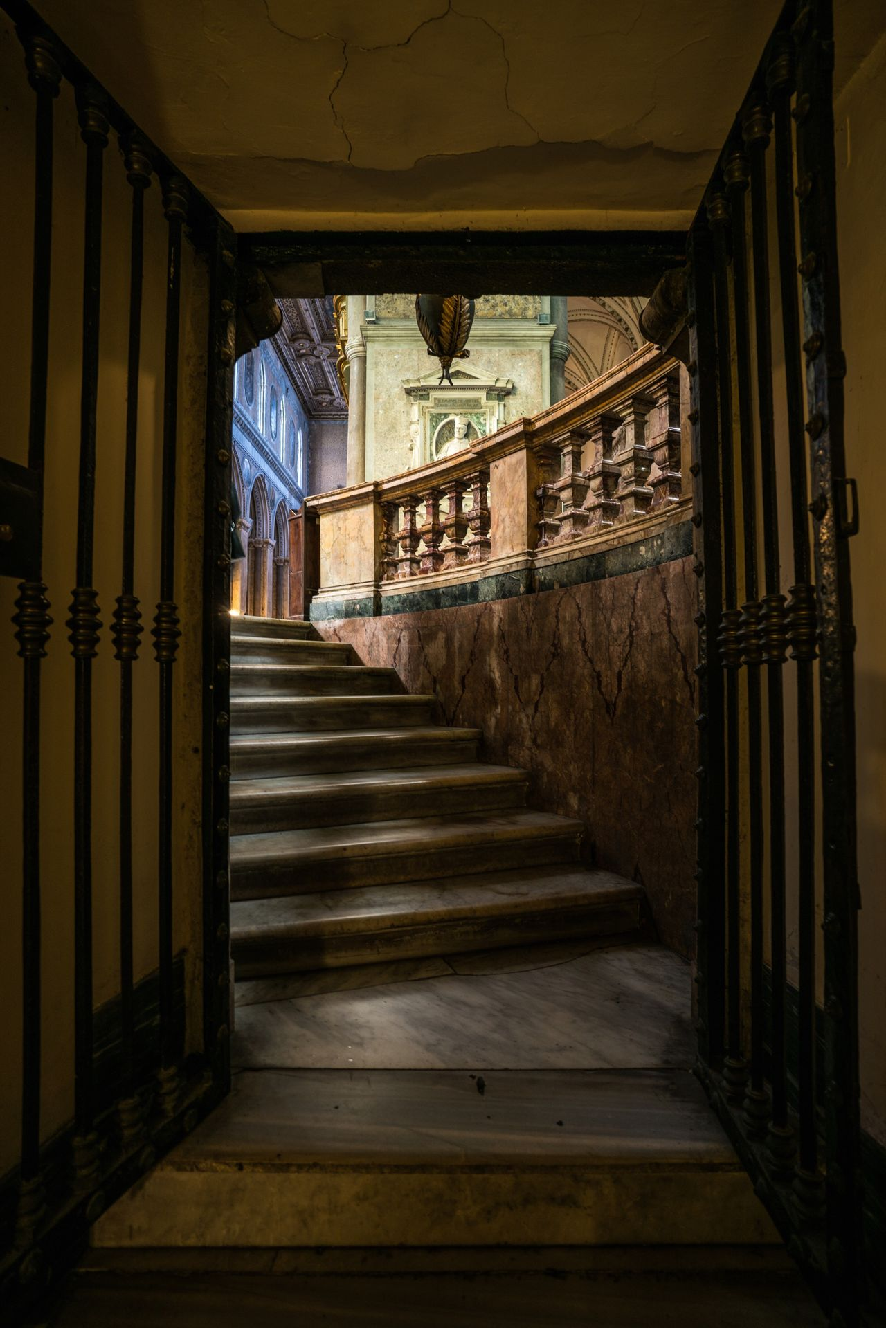 Out of the Dungeon. Staircase Steps Steps And Staircases Indoors  Architecture Stairs Church Duomo Cathedral Religion Napoli Naples Italy❤️ Italia Italy Bella Italia City Spirituality Colors Interior Design