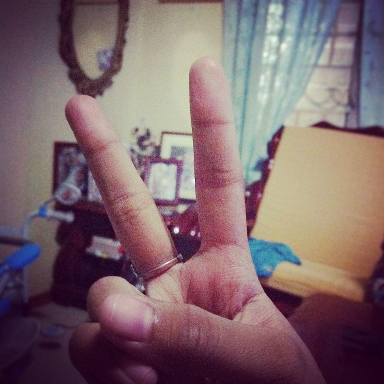 PEACE. Me Peace Yvonne